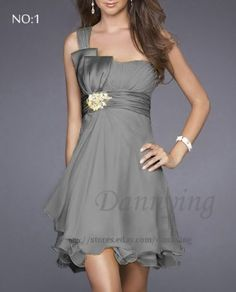 Womens Party Evening Bridesmaid Cocktail Wedding Dress