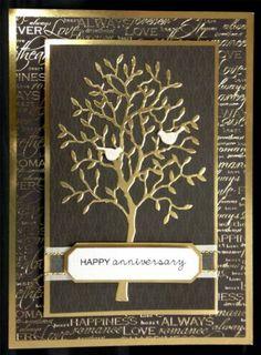 Spring Tree with Leaves Die Cut Grand Alder Tree Diecut by Memory Box   eBay
