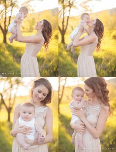 outdoor family photos summer - Google Search 6 Month Baby Picture Ideas, Family Photos With Baby, Outdoor Family Photos, Baby Family, Mother Baby Photography, Outdoor Baby Photography, Newborn Photography, Family Photography, Vintage Photography