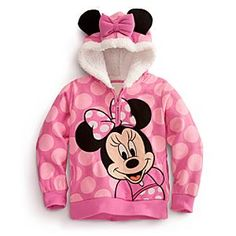 Minnie Mouse Hoodie for Girls | Girls | New | Disney Store