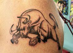 J Tattoo, Arm Tattoos, Sexy Tattoos, Tattoos For Guys, Animal Skull Tattoos, Taurus Bull Tattoos, Taurus Constellation Tattoo, Tattoos With Meaning, Tattoo Meanings