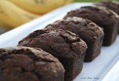 Banana Chocolate Muffin Loaves