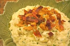 Colcannon Potatoes...an amazing dish full of flavor from PineCreekStyle