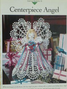 Angel crochet pattern  Vanna's  681 by CarolsCreations77 on Etsy, $2.50