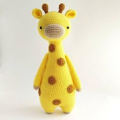 This is a pattern to make this lovely giraffe!The pattern includes many pictures and detailed explanations. It's in PDF format and will be available for download immediately after purchase.It is available in: - EnglishThe giraffe in the picture is made with Stylecraft Special DK yarn on a 2.75 (size C) hook and turned out to be 30 cm tall (about 11.8 inches).Level: intermediateThe following stitches are used: Regular stitch, decrease stitch, increase stitchThe following methods are used…