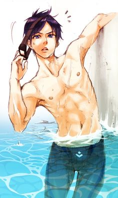 Rei Ryugazaki- Oops I just drooled all over my laptop.