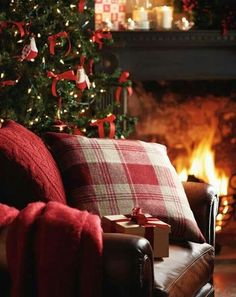 Cosy Christmas fire