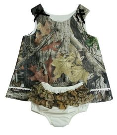 Baby Camo Dress Realtree or Mossy Oak Infant Jumper + Ruffled Panty Gift Set 6M - 4T (24M, Mossy Oak) by Realtree Baby, http://www.amazon.com/dp/B00ECKTQSQ/ref=cm_sw_r_pi_dp_yKfasb0A0REPR