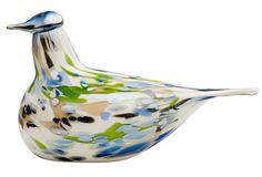 Toikka Bird Alder Thrush By Oiva Toikka for Iittala