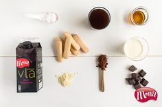 Tiramisu met Intense Vla Pure Chocolade - Mona