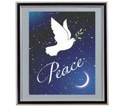 Peace - Holiday Digital Art - Christmas - Holiday Card - Instant Download by Analiese on Etsy