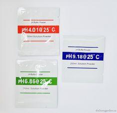 PH Buffer Powder 4.01/6.86/9.18 (3 packs of each)