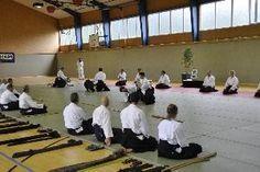 Aikido Danprüfungen im Rahmen des Aikidolehrgang in Niederöblarn Juni 2013