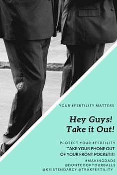 Guys! Where's your phone? Your #fertility matters! Take it out of your front pocket! Read more https://www.kristendarcy.com/mens-reproductive-health/ #Menshealthmonth #infertility #MaleInfertility #Sperm #MakingDads #fertilitycoach