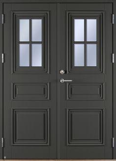 Ekstrands pardörr Park 870 G12 SP1:1, Tillval: Kulör grå. #Ekstrands #pardörr #dörr #ytterdörr #Park