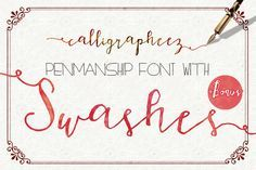 Check out Calligrapheez Font ModernCalligraphy by mycandythemes on Creative Market