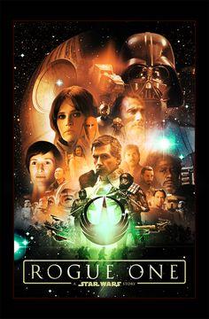 Star Wars Rogue One by dan-zhbanov
