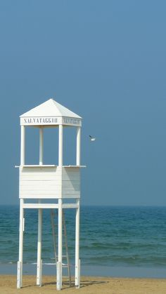 Sweet Lifeguard Stand! Rimini beach, Italy