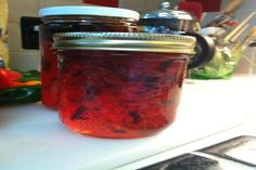 Blueberry Pepper Jelly. Photo by sa's kitchen