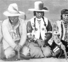 Alex James, George Lahouse, James Williams, and Joe Albert Playing Stick Game :: National Park Service (NPS) Nez Perce Historic Images Collection
