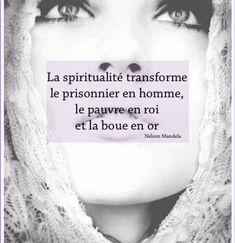 La spiritualité...
