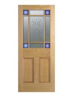 A classic Victorian vestibule door with a stylish twist of starburst glazing. Victorian Internal Doors, Veneer Door, Timber Panelling, Fire Doors, Solid Doors, Traditional Doors, Vestibule, House Entrance, Star Designs