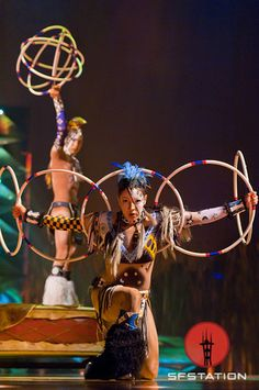 hoop artist in Cirque du Soleil's new show Totem. I so-o want to go to this(working on it)!