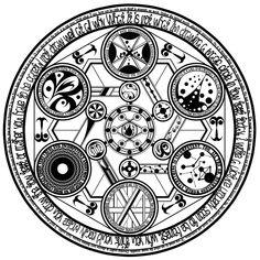 Well made spell circle Alfabeto Viking, Zentangle, Karten Tattoos, Summoning Circle, Lake Pictures, Magic Symbols, Demonology, Magic Circle, Sacred Geometry