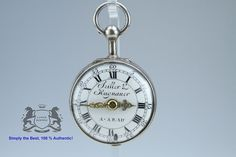 Seiller & Hagnauer Aarau small Spindel Onion Verge Fusee Pocket Watch 1750 (595)