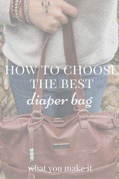 Instead of going about it the wrong way (like I did), here's some great tips on how to shop for a diaper bag! (Plus a review of a great one!)