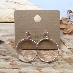 Tiny Stud Earrings, Circle Earrings, Silver Hoop Earrings, Silver Beads, Dangle Earrings, Unique Rings, Unique Jewelry, Gifts For Her, Dangles