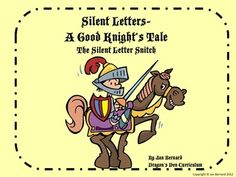 Make learning silent letter words a lot more fun with this story about a knight who must find the silent letters that were stolen from the kingdom. The story sets the stage for the importance of silent letters in words, then provides five engaging activities to reinforce the spelling of these tricky words. $
