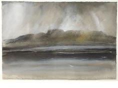 Norman Ackroyd RA (British,born 1938) 'Inishmaan - Dun Conchiar'
