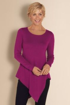 Luxurious Tunic from Soft Surroundings