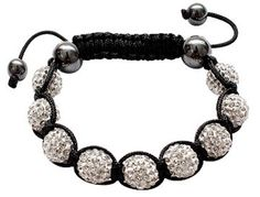 TOPSELLER! Shamballa Crystal Ball bracelet by GlitZ JewelZ ? - Iced balls - fits lovely on any wrist - perfect for a gift - packed in... $6.99