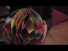 Palle di Natale in carta nido (Fai da Te/ decorazioni) - Arte per Te - - YouTube