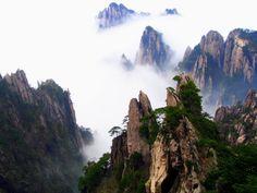 Huangshuan mountains, China