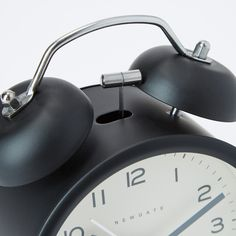 The Charlie Bell Bedside Alarm Clock from Newgate combines vintage design with a contemporary aesthetic, offering both sentimentality and sleek minimalism. Housed in a metal case, the clock features a graphic dial with a silent sweep motion, making it ideal for a bedside position. A British company through and through, Newgate is celebrated for its instantly recognisable clock collections, which juxtapose vintage sentimentality with contemporary touches.Requires: 1 x AA battery (not included). Charlie Bell, Alarm Companies, Security Cameras For Home, Home Security Systems, Alarm Clock, Bedside, Contemporary Design, Vintage Designs