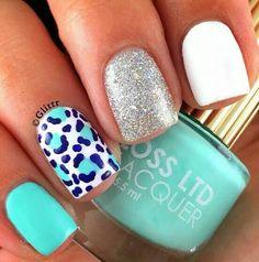 Great Nails, Cute Nails, Hair And Nails, My Nails, Nail Polish Style, Latest Nail Designs, Easter Nail Designs, Leopard Print Nails, Best Acrylic Nails