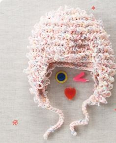 Fuzzy Hat free crochet graph pattern