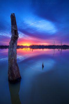 ~~Genesis ~ sunset at Fish Creek, Oklahoma by Todd Tobey~~