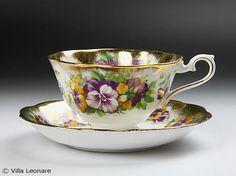 Royal Albert Pansy & Aya Kon cup and saucer