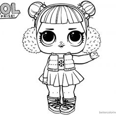 Lol Printable Coloring Pages from Lol Doll Coloring Pages Printable. Toys LOL are treading the peak of popularity among children throughout the world. Even though the doll inside the LOL Surprise ball is not exactly rev. Ninjago Coloring Pages, Bee Coloring Pages, Boy Coloring, Mermaid Coloring Pages, Coloring Pages For Boys, Cartoon Coloring Pages, Disney Coloring Pages, Free Printable Coloring Pages, Small Baby Dolls