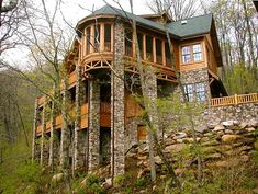 North Carolins custon log homes, cabins and vacation homes. Log Cabins For Sale, Cabins And Cottages, Mountain Homes, Mountain Cabins, Mountain Living, Cedar Homes, Cabin In The Woods, Log Cabin Homes, My Dream Home