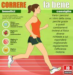 Correre fa bene #corsa #attivitàfisica #movimento #running