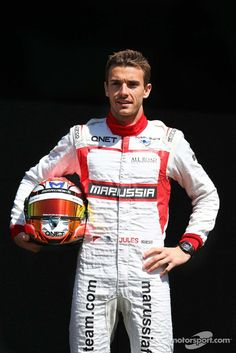 Official photo session for Jules Bianchi - 2014 Australian GP