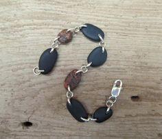 Lake Superior Stone Bracelet by LakeSuperiorDrifting on Etsy, $45.00