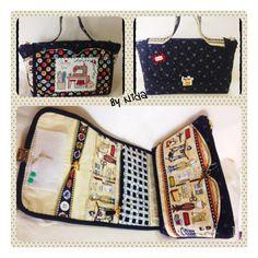 Bolsa costureiro... ótima para guardar material de costura ou bordados