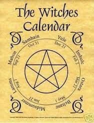 Witches Calendar ☽✪☾