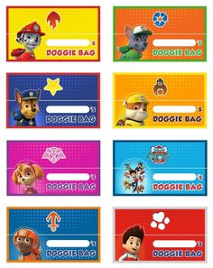 "Free Printable Paw Patrol Food Labels - Invitation Templates DesignSearch Results for ""free printable paw patrol food labels"" – Invitation Templates Design"